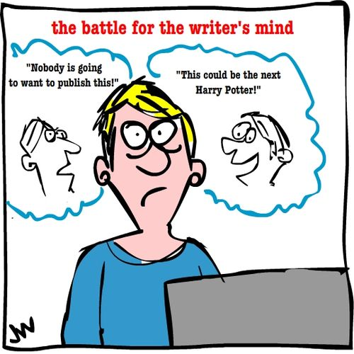Battle for the writer's mind