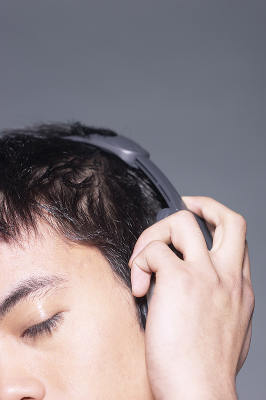 Listening to music-w400-h400