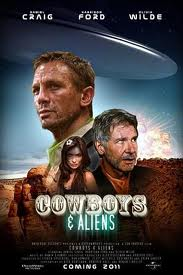 Cowboys & alients screenwriting