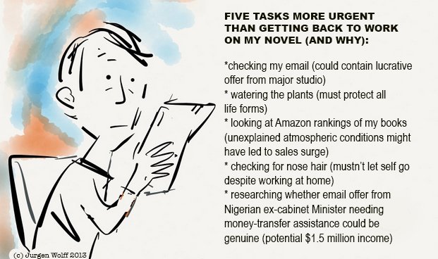 Urgent tasks writer's life series toon
