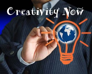 Creativity now blog logo