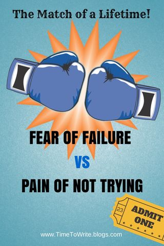 Fear vs pain writing