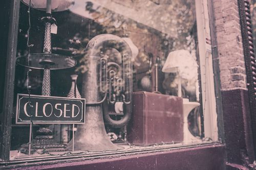Friday fiction closed antiques shop ryan mcguire no copyrt