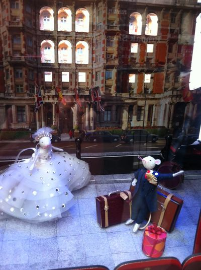 Graphic photo mouse traveller harrods