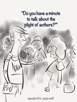 Graphic my toon plight of authors