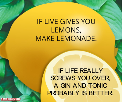 LIFE LEMONADE DEMOTIVATIONAL