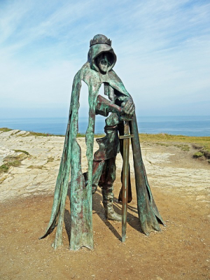 Photo king arthur statue-1507392_640