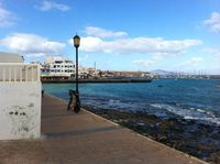 Fuerteventura blue sea