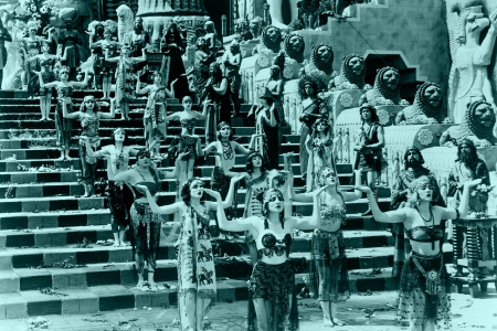 Photo Still from D. W. Griffith's intolerance-1980609_1280