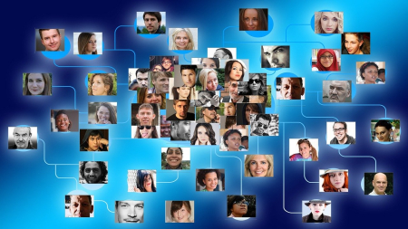 Photo web of people connected system-927147_1280